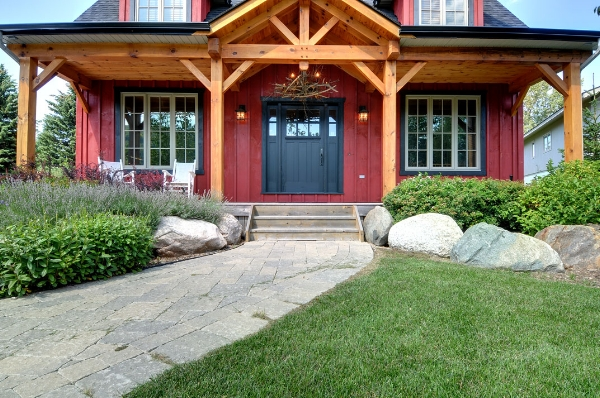 Don't forget about the exterior finishing of your custom home