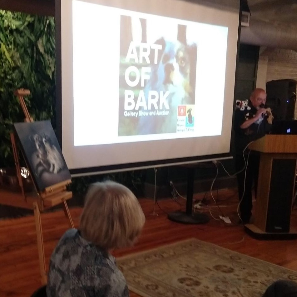 The Art of Bark Auction by Hood River Adopt-a-Dog
