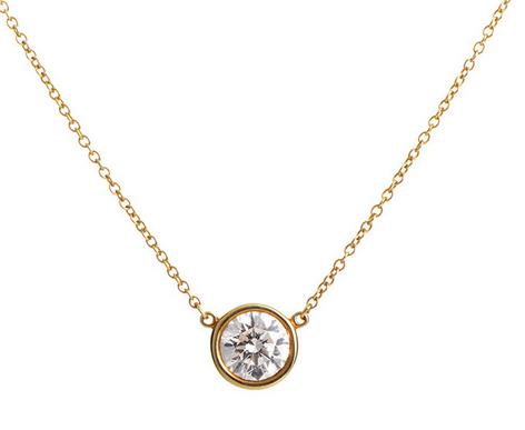 Elsa Peretti Diamond Pendant, $800