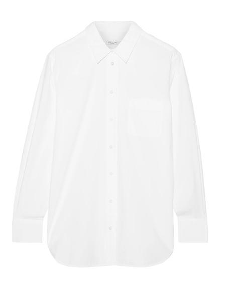 White Poplin Shirt, $220.