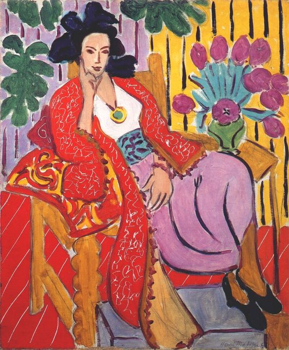 Odalisque in Red Pants - Matisse