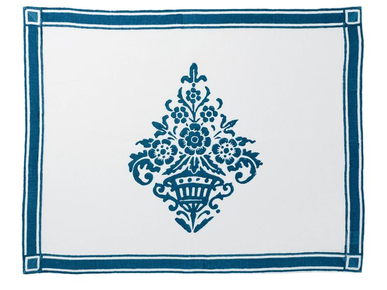 Hand Printed Placemats, $119 (for 2)