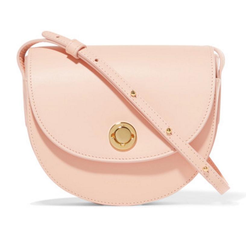 Mini Saddle in Pastel Pink, $695