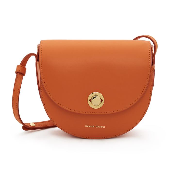 Mini Saddle in Orange, $695