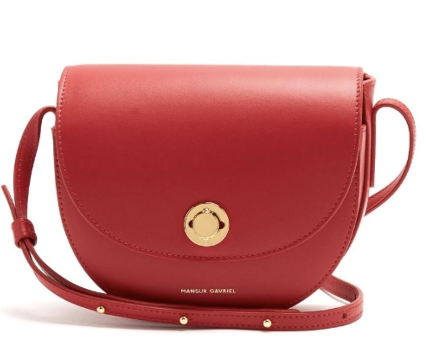 Mini Saddle in Red, $706