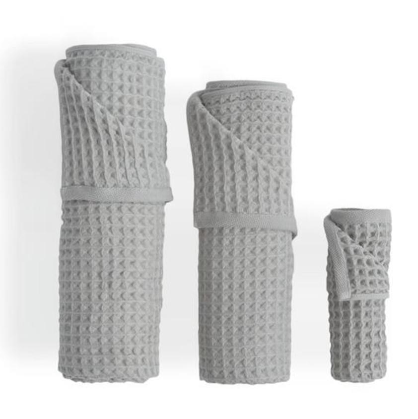 Uchino Grey Towels, $14 +