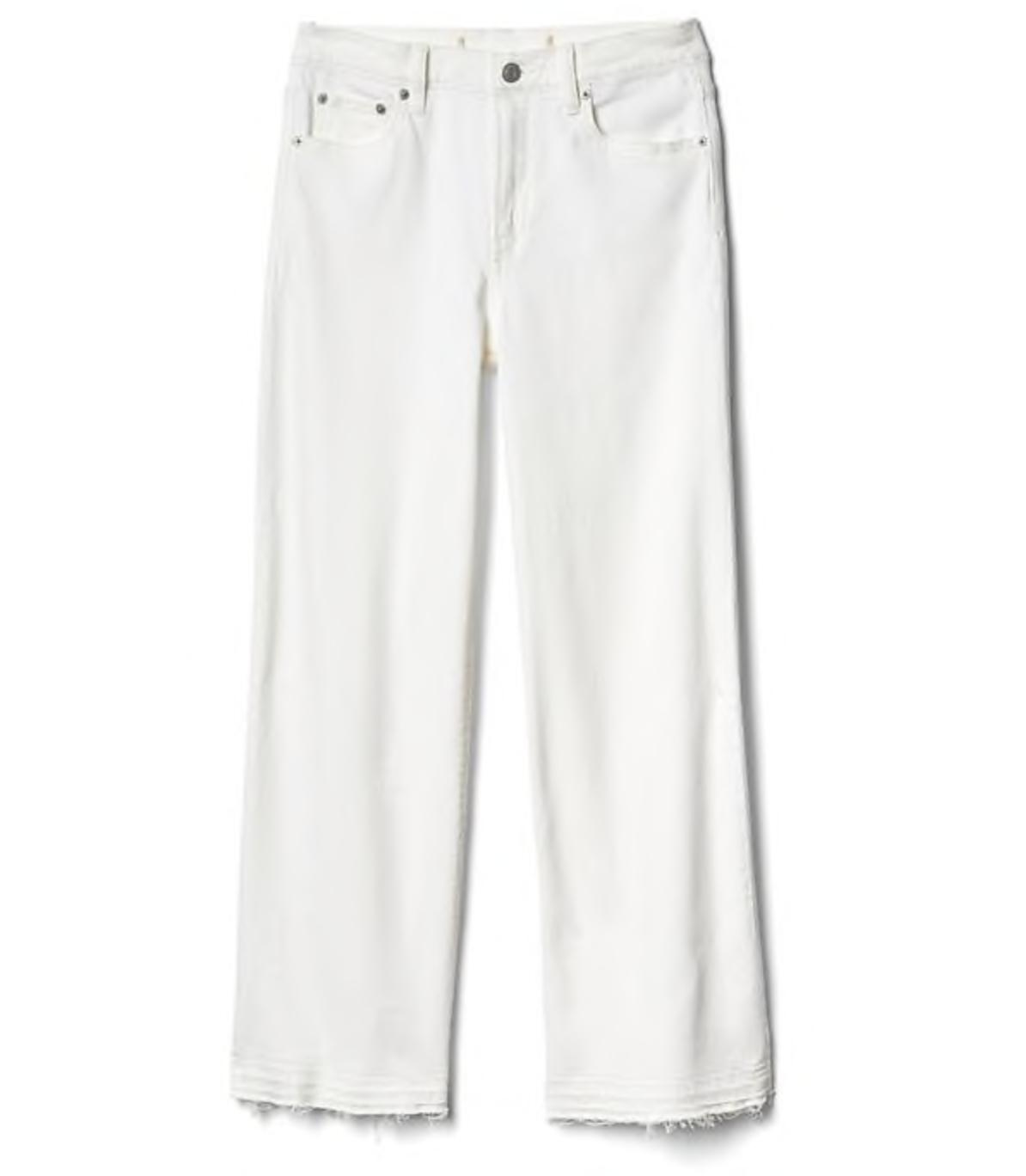 Gap White Jeans, $70