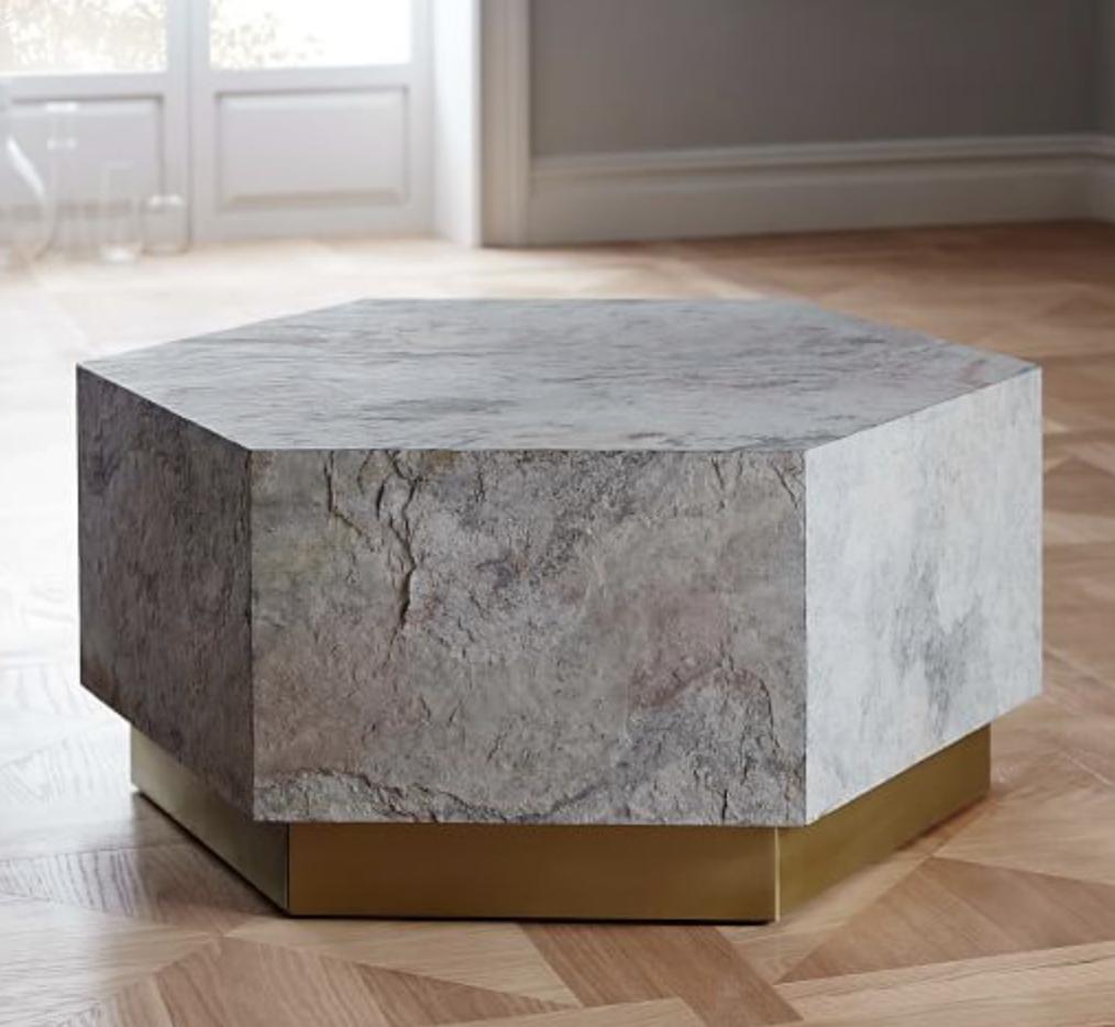 Geo Hex Coffe Table, $499.99