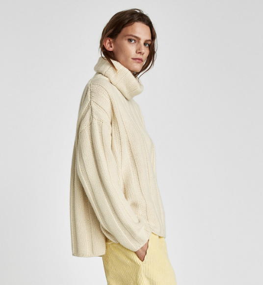 Oversized Cashmere Sweater, $249.9