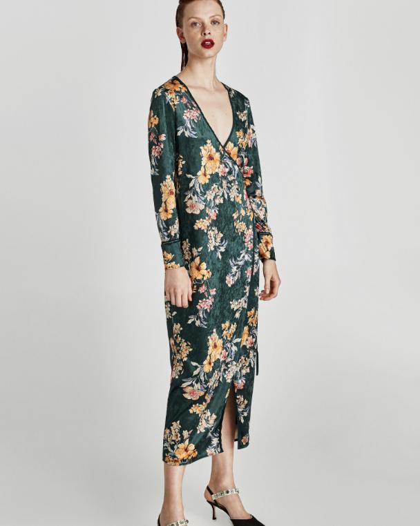 Velvet Dress, $89.9
