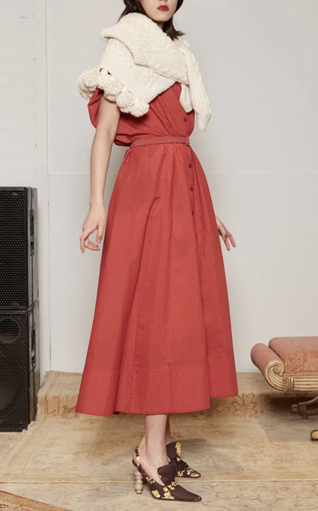 Rosie Assoulin - Have The Wind At Your Back Dress, $1595 at Moda Operandi