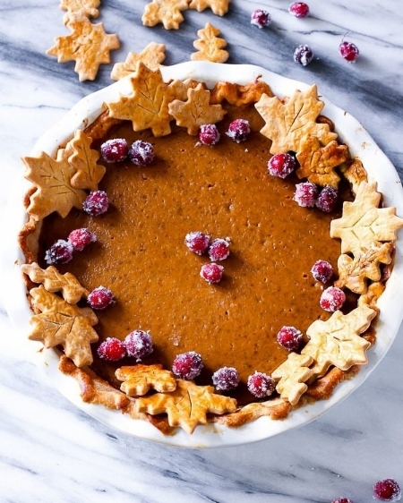 The Great Pumpkin Pie via Sally's Baking Addiction