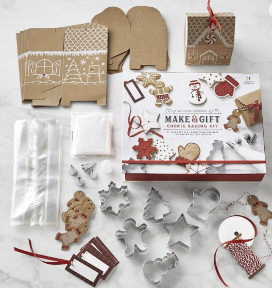 Make & Gift Cookies, $30