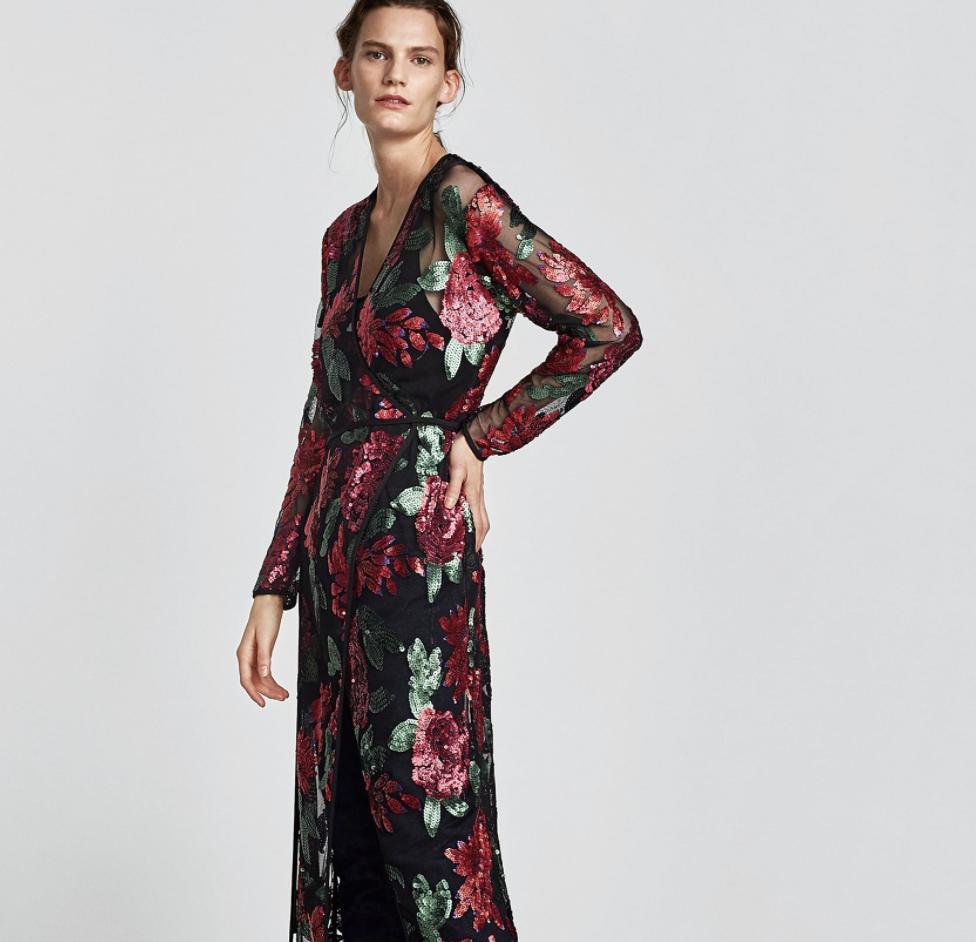 Sequinned Dress, $119