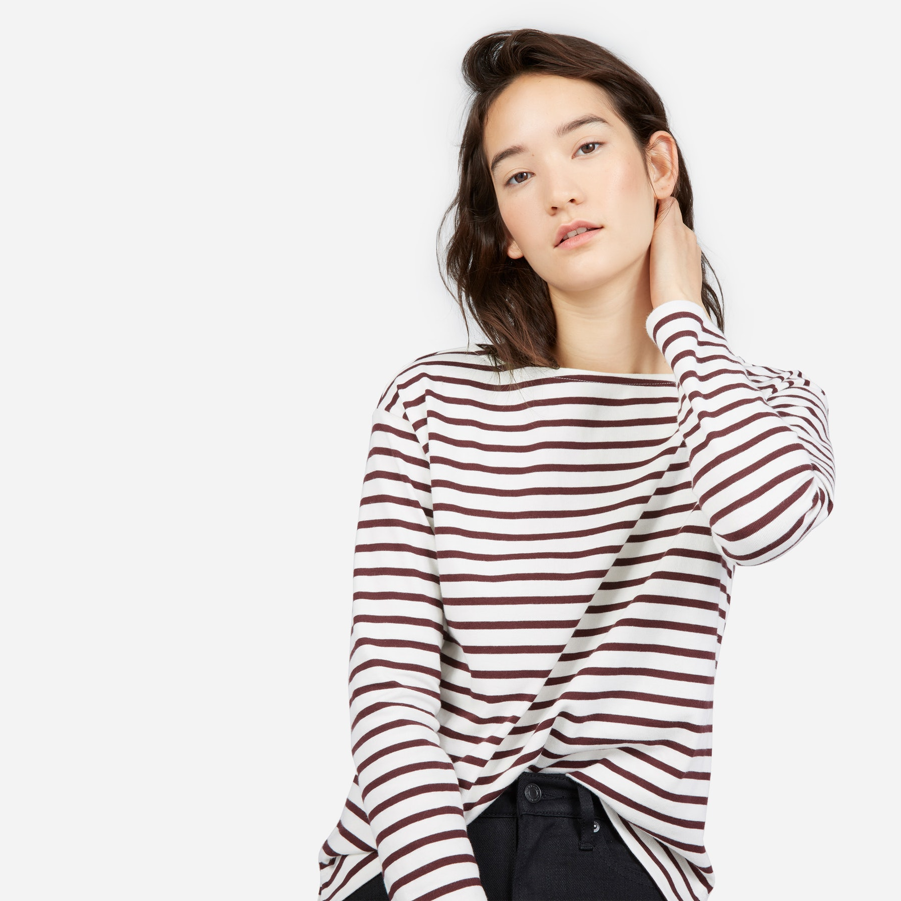 Stripped Tee, $45