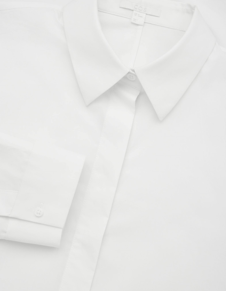 White Cocoon Shirt, $99