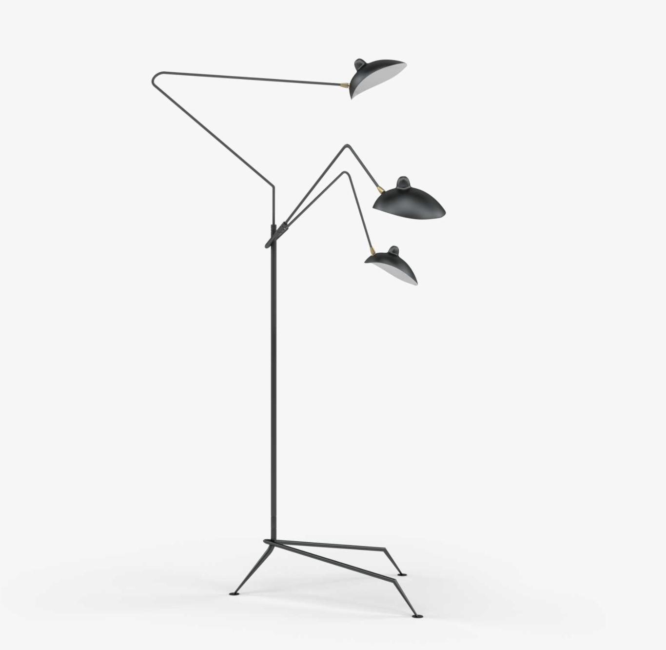 Mouille 3 Floor Lamp, $589