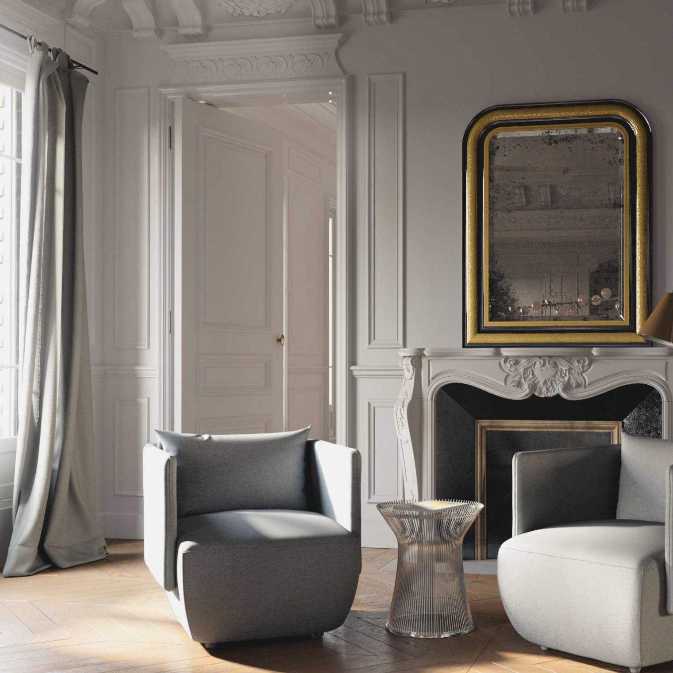 Sylvia Lounge Chair, $745
