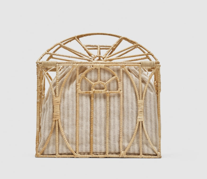 Zara Cage Bag, $50