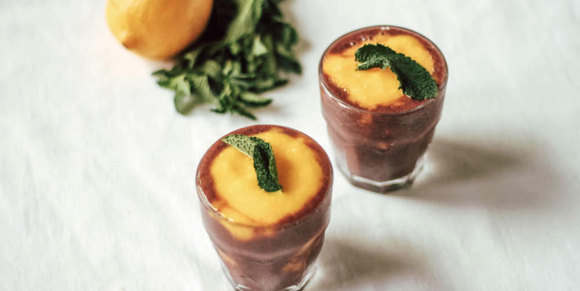 Berry Mango Mint Smoothie