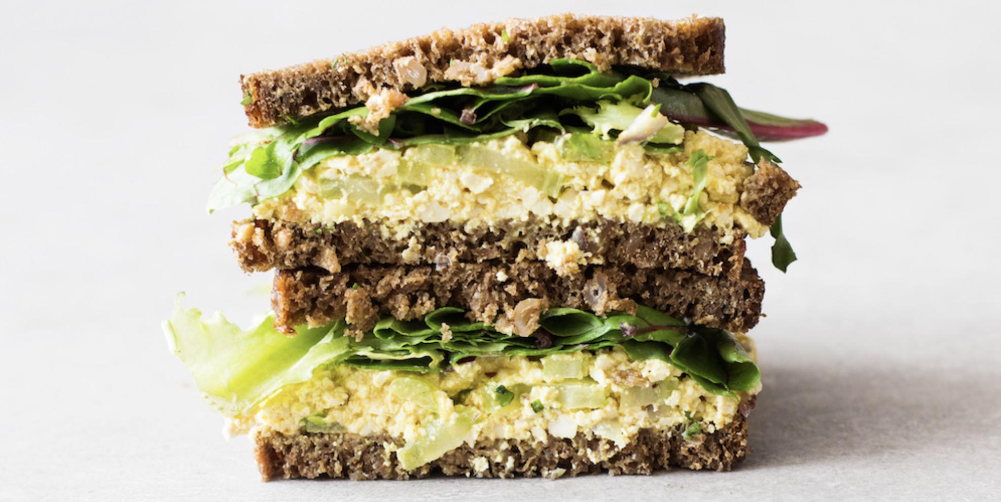 Tofu Salad Sandwich