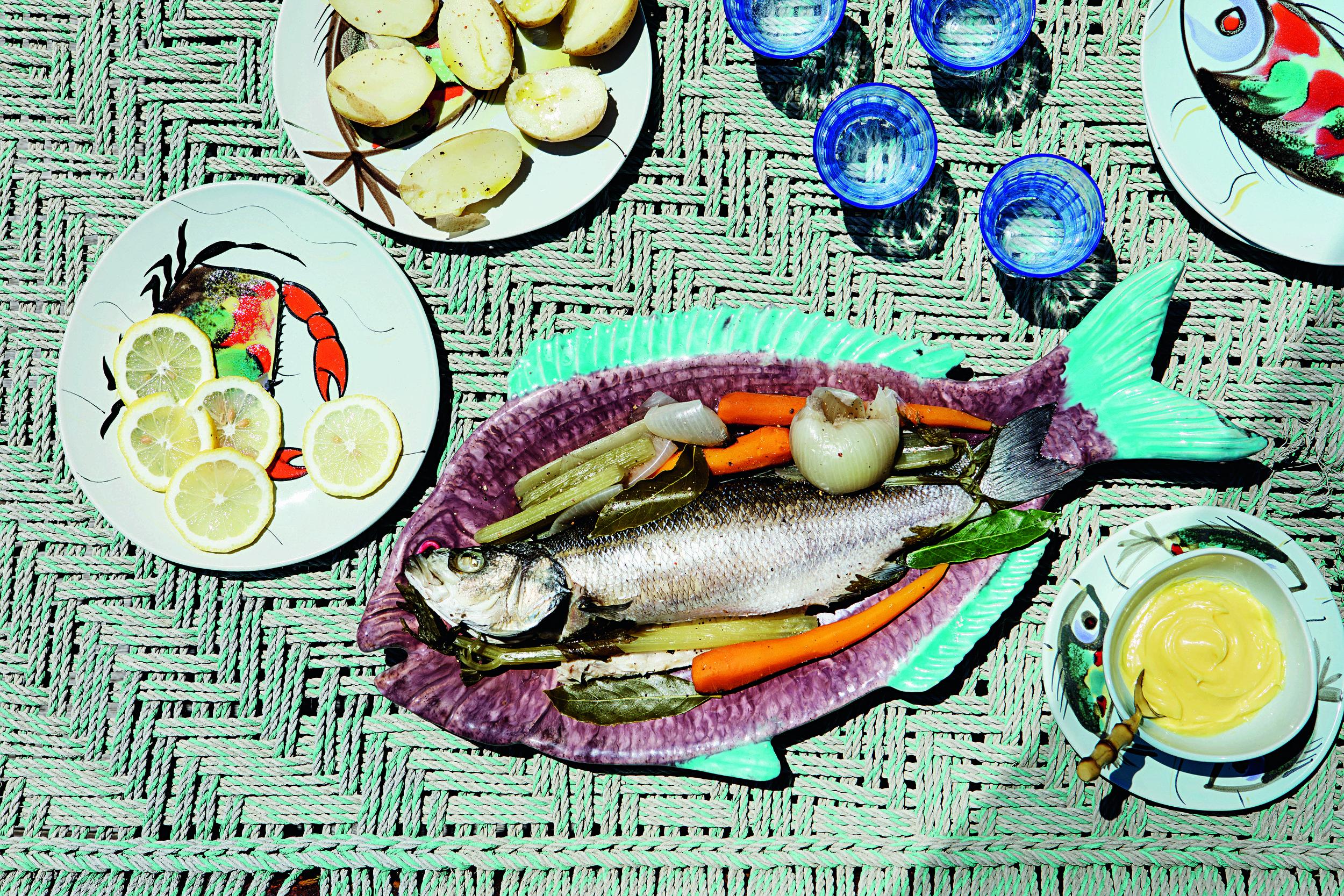 Pesce Bollito con Maionese © Missoni