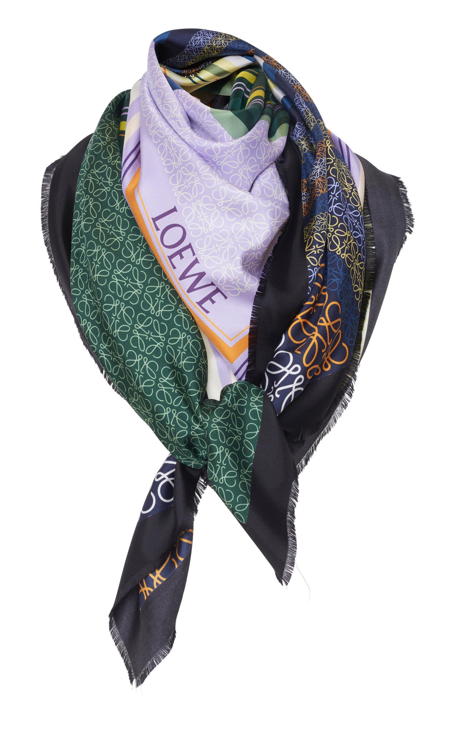 Loewe Silk Scarf, $690