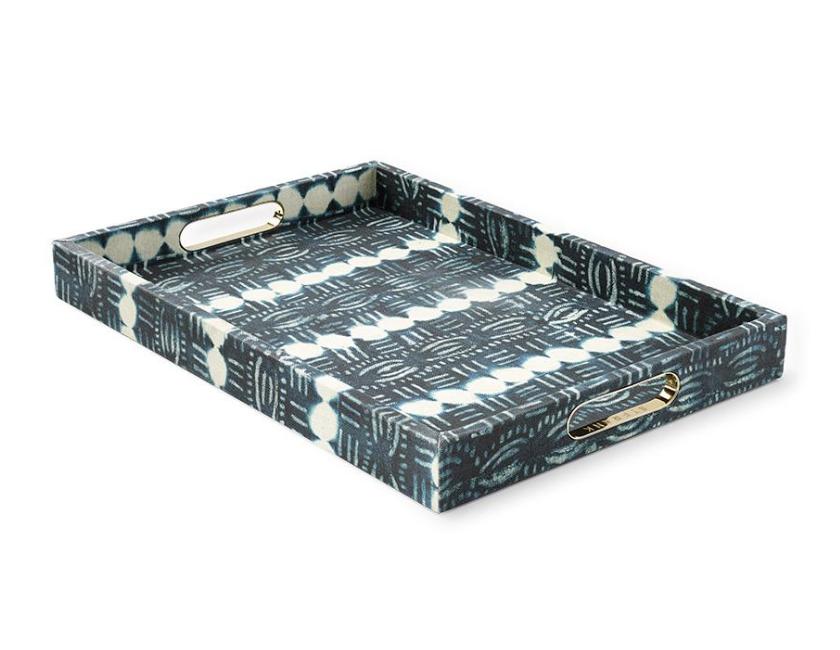 Beads Indigo Tray, $550