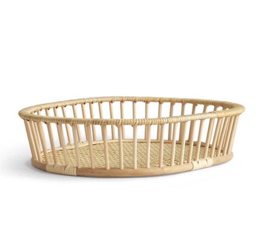 Hairu Rattan Basket, $200