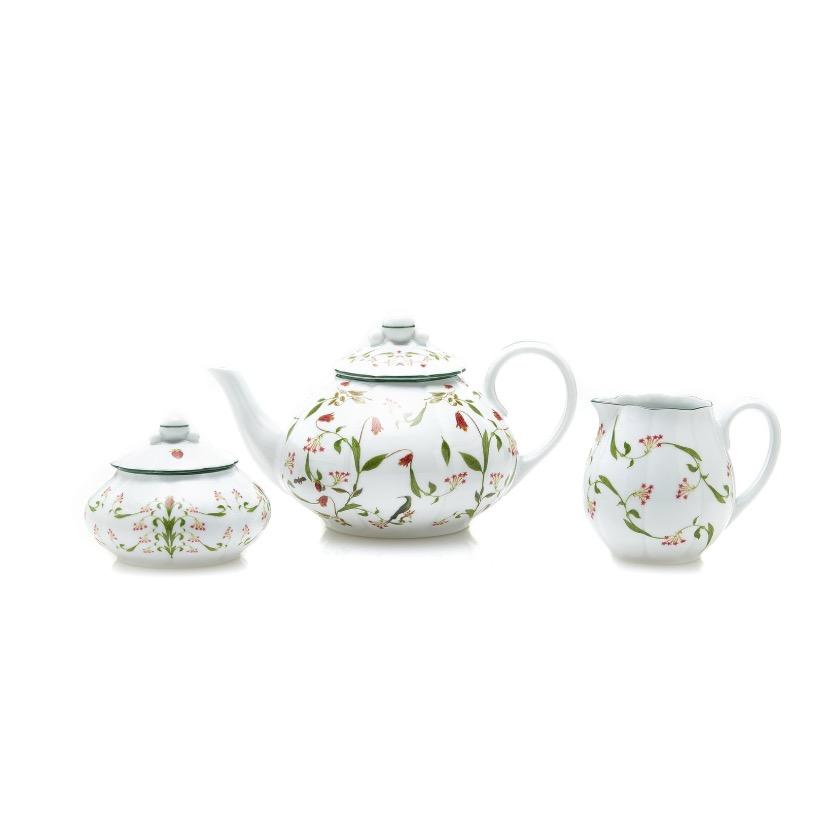 Stephanie Fishwick Tea Pot Set, $395