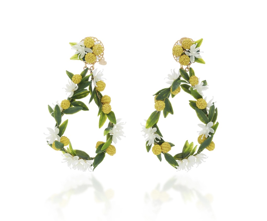 Mercedes Salazar Earrings, $225