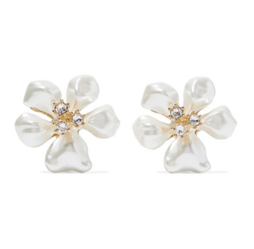 Kenneth Jay lane Earrings, $85