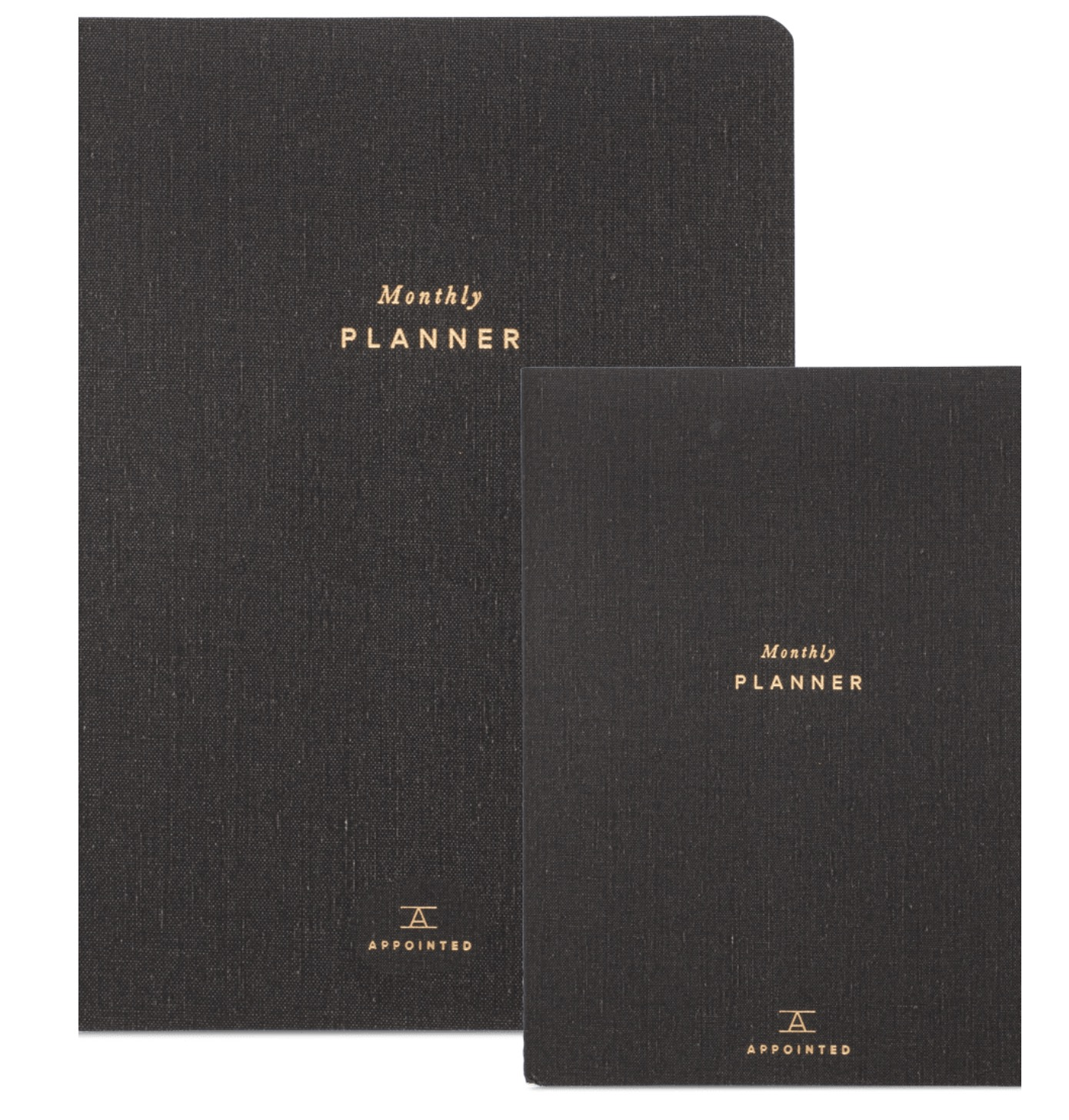 Appointed Monthly Planner, $20