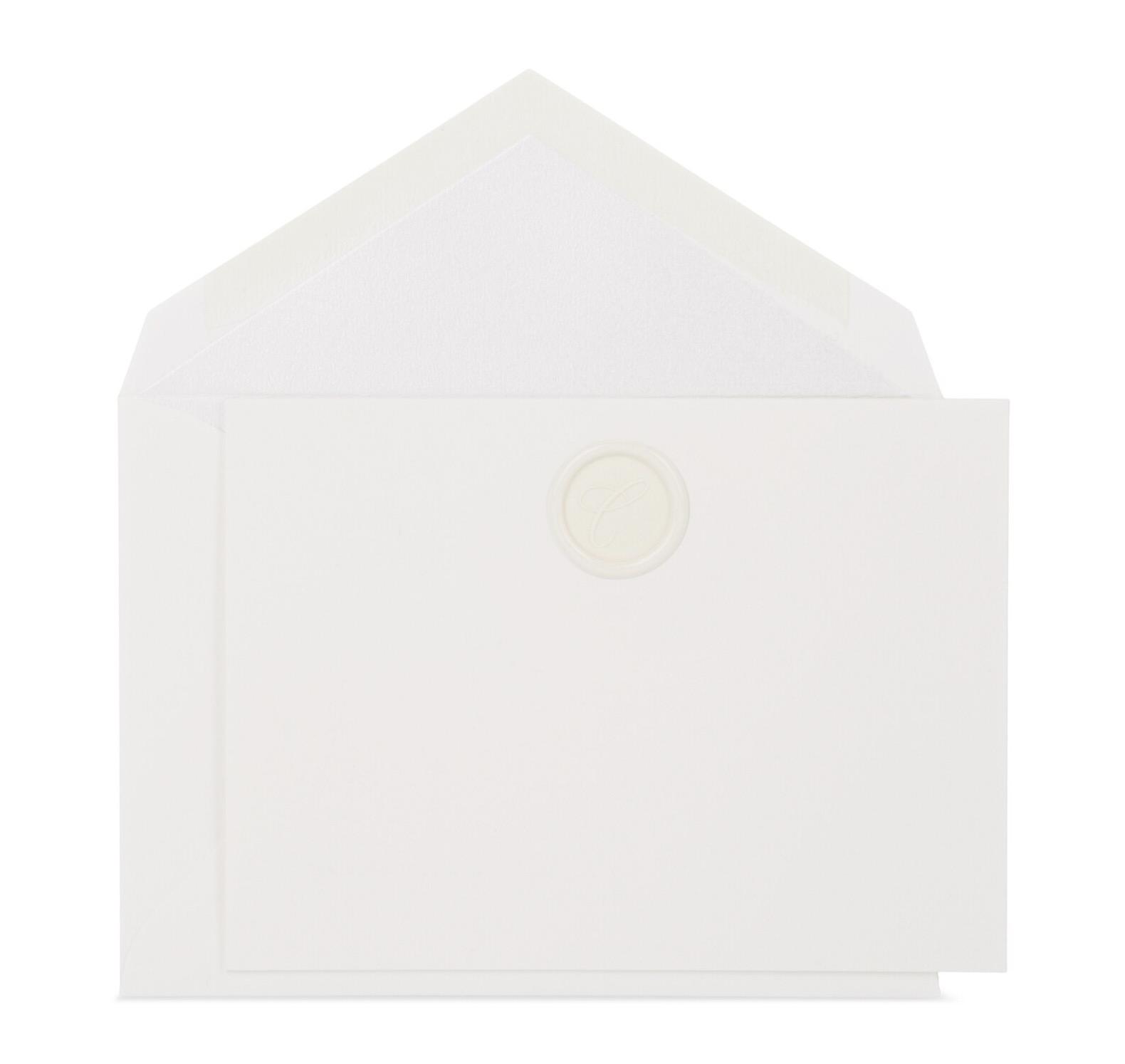 Connor Monogram Card, $10