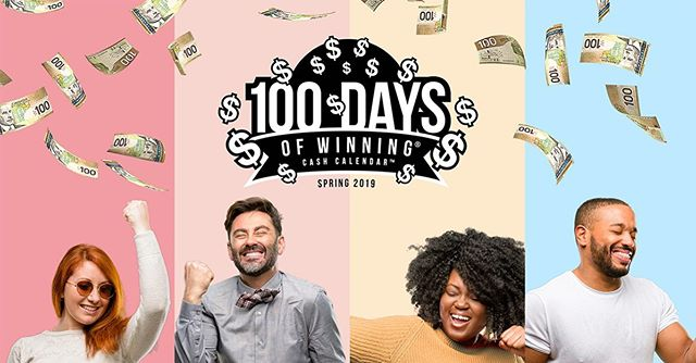 How excited would you be if you had a chance to win big every day for 100 days? Get your Cash Calendar tickets to be in to win $10,000 a day with $40,000 on Fridays! (Can you say TGIF??)