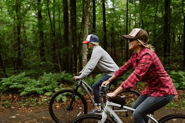 It's the best time of year to hit the trails. We are loving the new loop trail in Manitowish Waters! .  Tell us - where is your favorite bike trail?