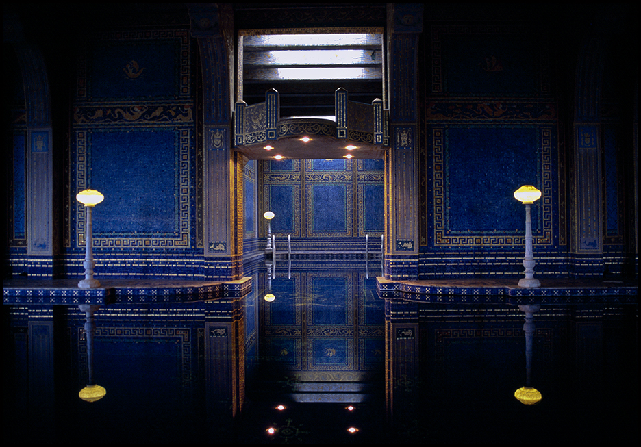 Pool, Hearst Castle, CA