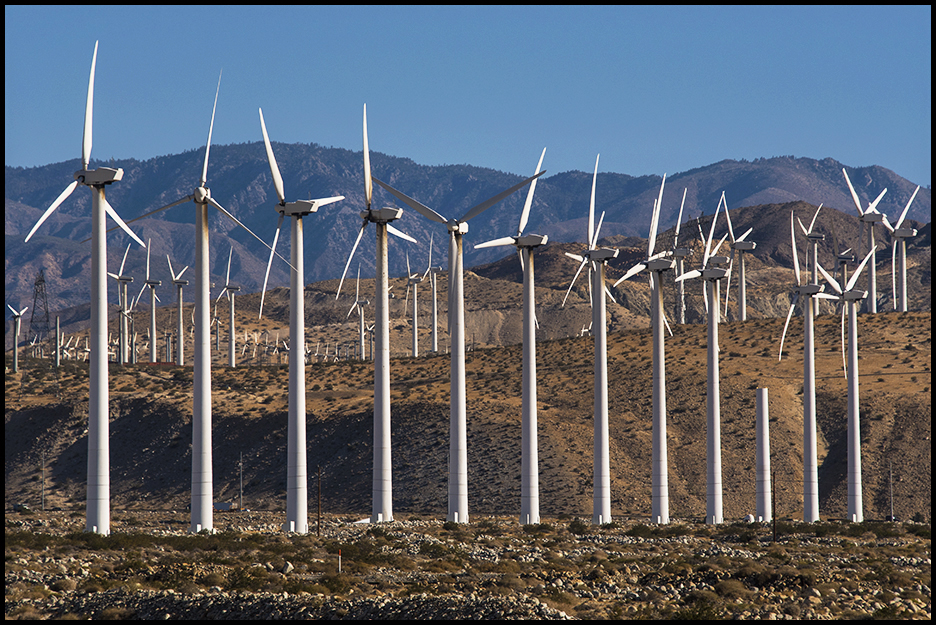 San Gorgonio Pass Wind Farm, CA