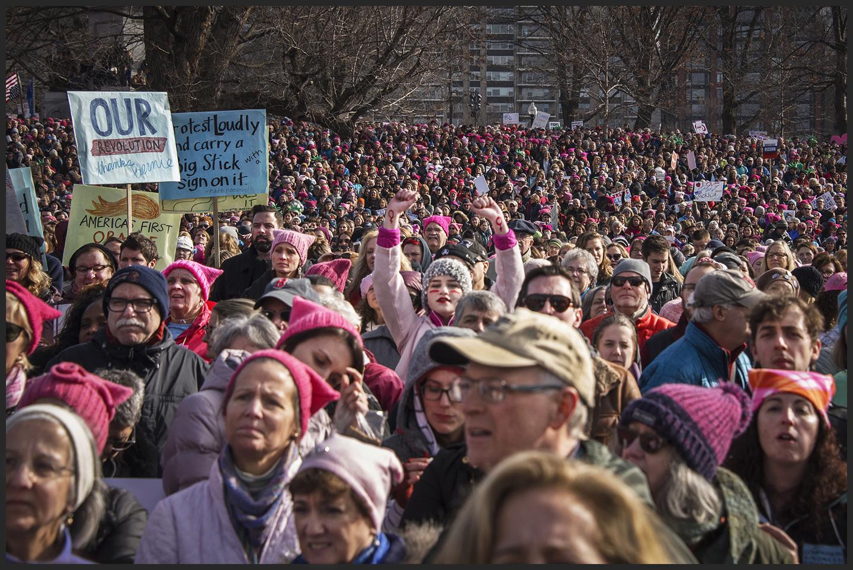 Boston Women's March for America