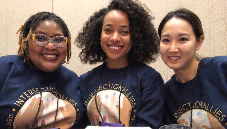 LaToya Council (left), Me (center), and Carolyn Choi (right)
