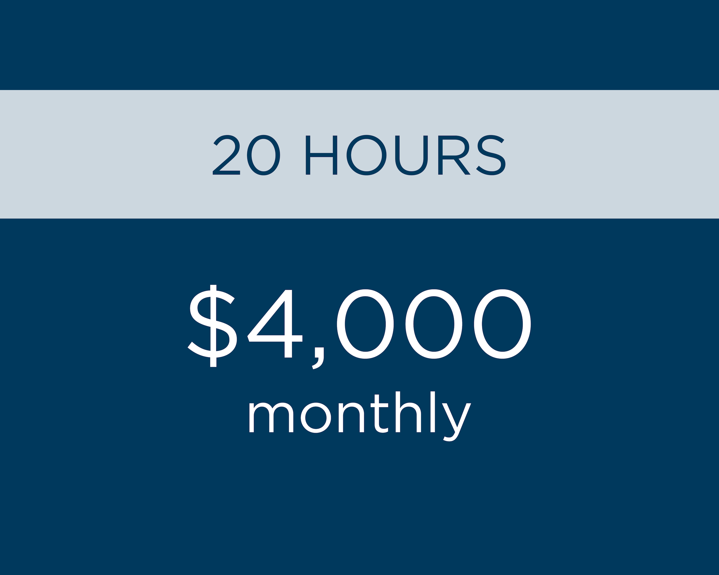 - Additional hours as needed at $200 per hour.