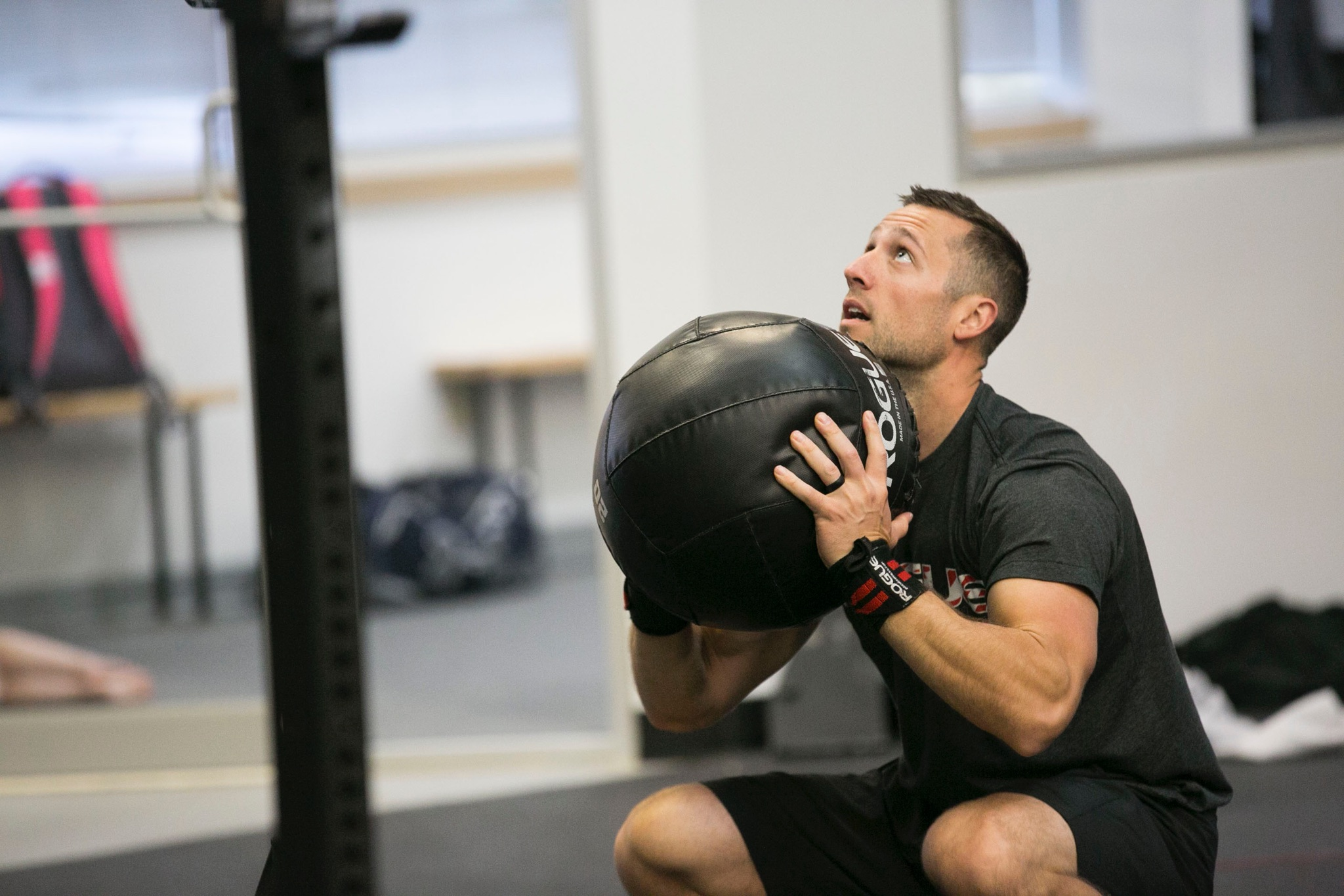 """Coach Corey Sweat not only wins the """"Most Appropriate CrossFit Coach Name"""" award, but it's always been his dream to coach right here at CrossFit Pickerington.  """"From the time I met the owners and members here at CrossFit Pickerington, It has been a goal of mine to observe, listen, and grow as a member to have the opportunity to be a coach at THIS gym,"""" he says. """"I want the members to know I am truly excited and honored to be called one of their coaches.""""  Corey is also a full-time teacher, so coaching is a natural extension of his love of learning and teaching. """"I enjoy educating myself first, then sharing this with like-minded individuals with a passion for excellence,"""" he says.  Two things you'll hear from Corey in his classes are """"Pay the man"""" and """"But did you die?""""  CERTIFICATIONS: CrossFit Level 1"""