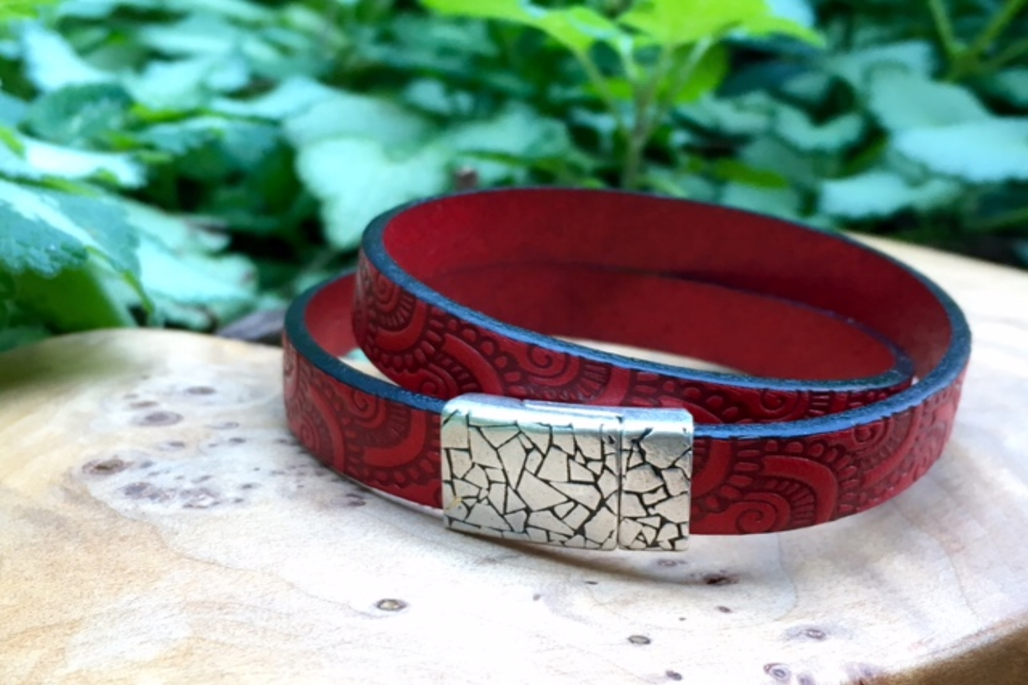 Dbl wrap red leather.jpg