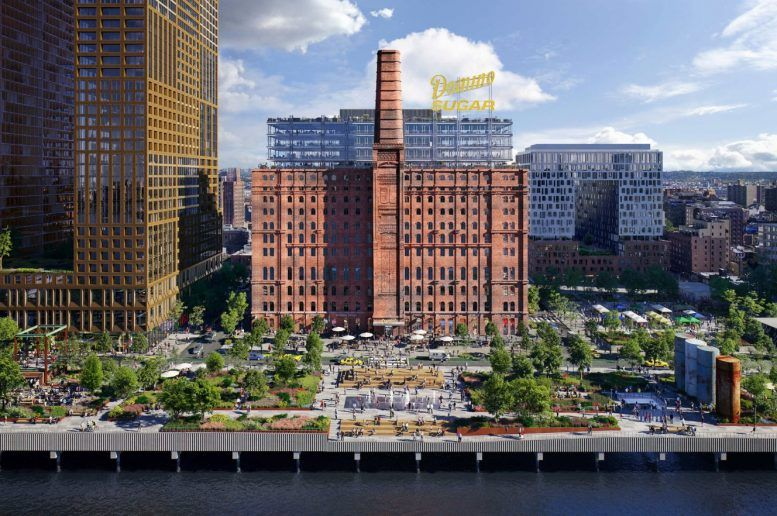 The Domino Sugar Refinery   Photo Credit:  The New York Post