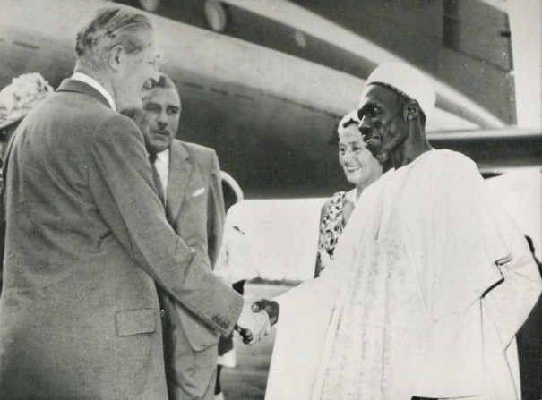 Harold Macmillan visiting Nigeria in January 1960. ©  The National Archives