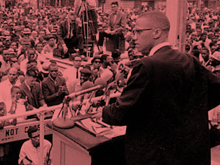 READ 'THE LANGUAGE OF VIOLENCE'  One of the final speeches given by Malcolm X,speech at the Ford Auditorium in Detroit.