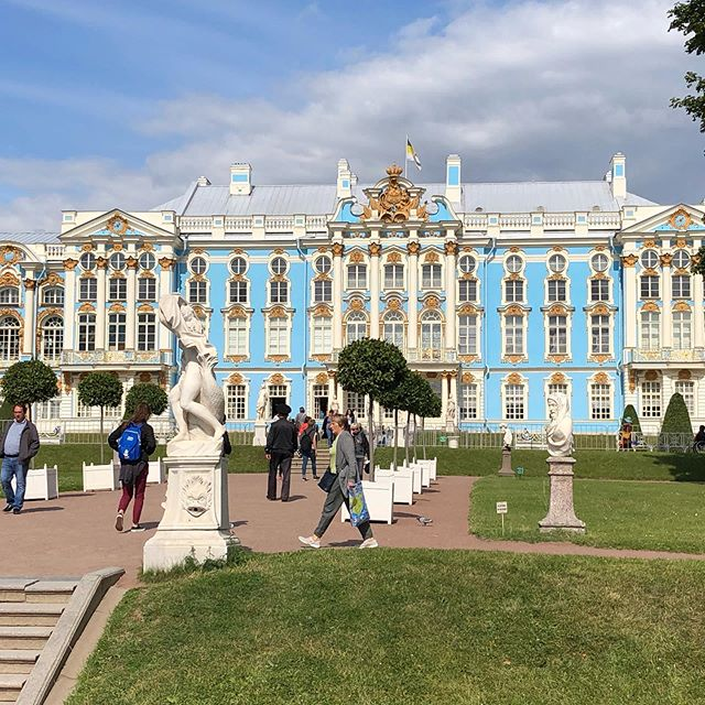 The Silversea Experience!  Taking us to St. Catherine's Palace.  @silverseacruises #silverseascruise
