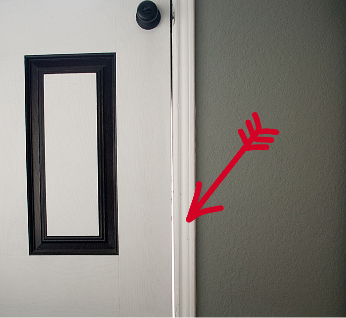 Noticing smaller things like a door gap can be an indicator of much larger issues