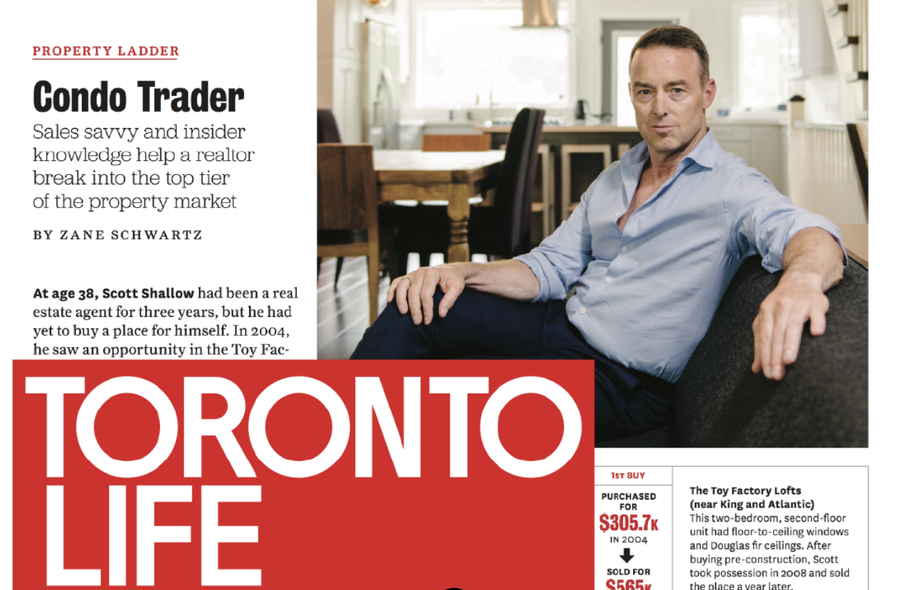 How To Accumulate Wealth: - Read My Story Featured in Toronto Life.