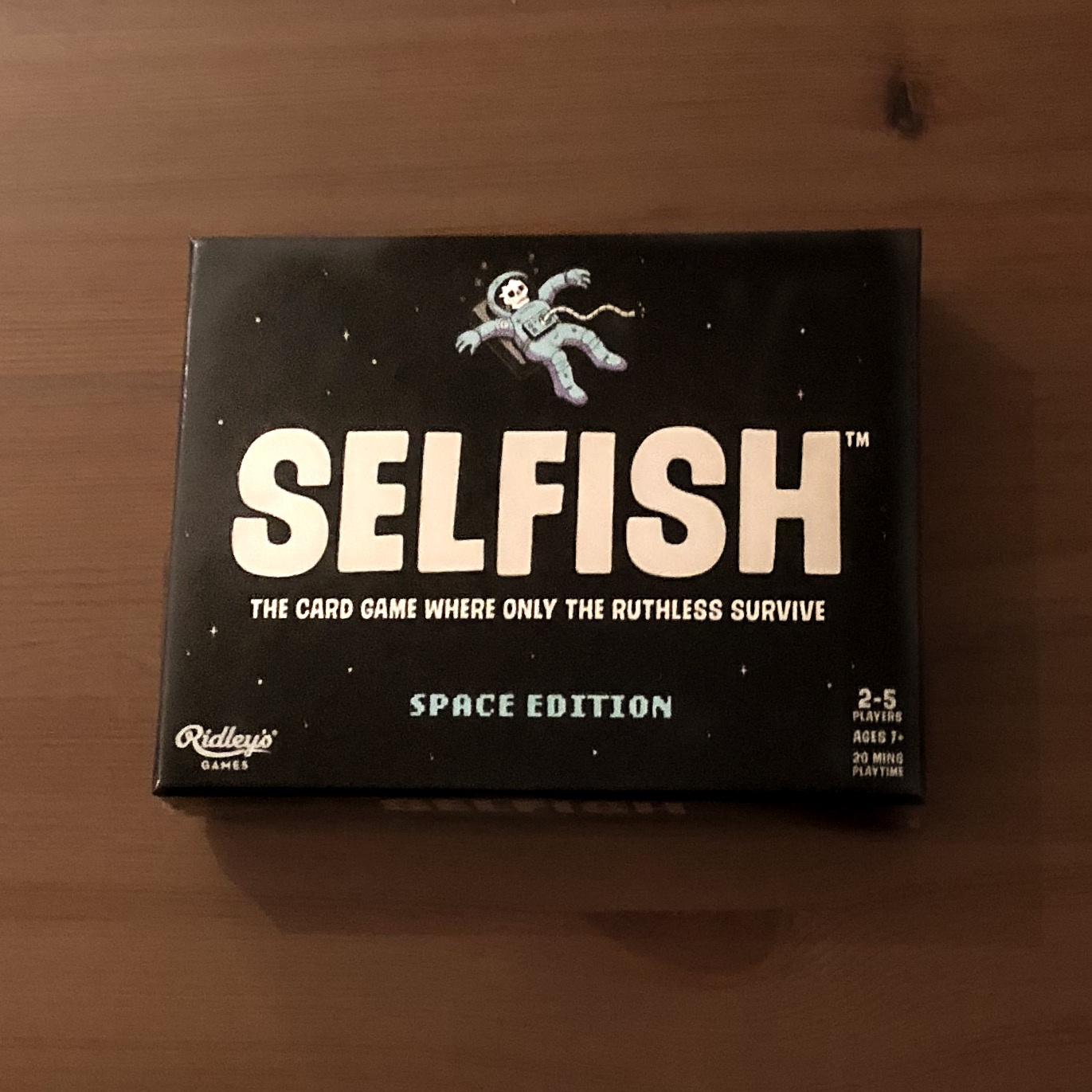 Ridleys Games,  Selfish: Space Edition